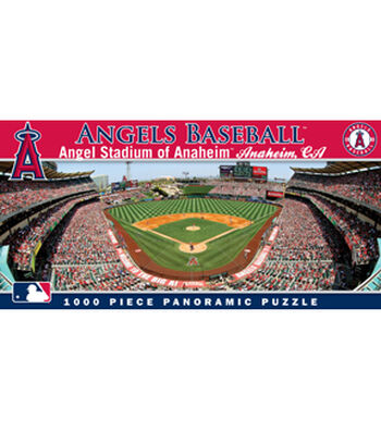 Los Angeles Angels Master Pieces Panoramic Puzzle