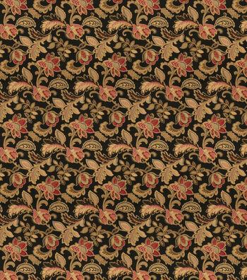 "Eaton Square Print Fabric 54""-Mars/Onyx"