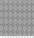 Quilter\u0027s Showcase™ Cotton Quilt Fabric 44\u0022-Mums Gray