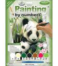 Royal Langnickel Junior Paint By Number Kit Panda & Baby