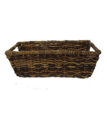 Organizing Essentials 16''x6.5''x5'' Bacbac Rectangle Storage Basket