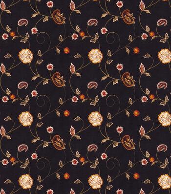 "Eaton Square Print Fabric 51""-Dynamic/Black"