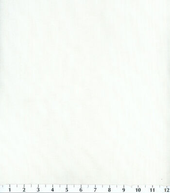 Voile Utility Fabric White