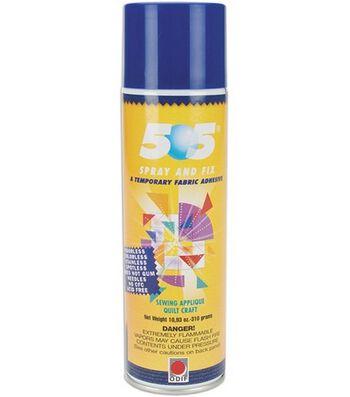 505 Spray & Fix Temporary Fabric Adhesive-11.7 oz.