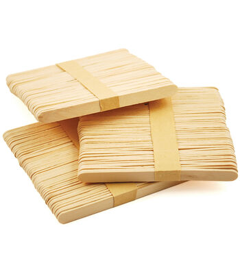 "Craft Popsicle Sticks-4.5"" 100/Pkg"