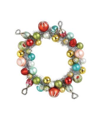 3R Studios Glass Ornament Wreath