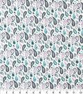 Premium Quilt Elena Cotton Fabric 44\u0027\u0027-Paisley