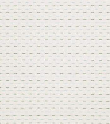 "Eaton Square Print Fabric 54""-Pupils/Aqua"