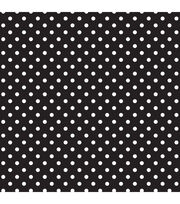 Fadeless Classic Dots 48x12 Black and White, , hi-res