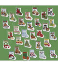 Bucilla More Tiny Stockings Ornaments Counted Cross Stitch Kit