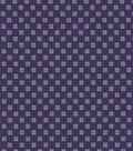 Quilter\u0027s Showcase™ Cotton Fabric 44\u0022-Grape Gray Ditsy Geometrics