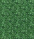 Christmas Cotton Fabric 43\u0022-Tonal Poinsettia Scrolls