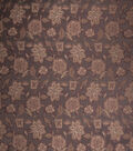 Home Decor 8\u0022x8\u0022 Fabric Swatch-Print Fabric Eaton Square Walters Chocolate