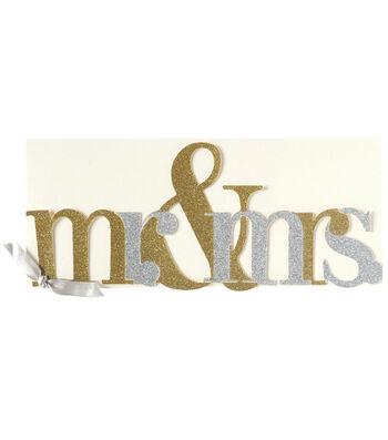Anna Griffin Mr & Mrs Diecut Custom Invitation