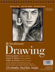 Strathmore® 400 Series 24 Sheets 8''x10'' Drawing Pad, , hi-res