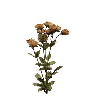 "Bloom Room 21.5"" Mini Rose Spray-Peach"