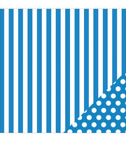 American Crafts Basics Stripe Double-Sided Cardstock, , hi-res