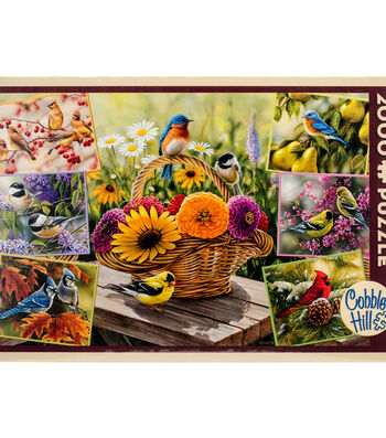 "Jigsaw Puzzle 2000 Pieces 40""X27""-Rosemary's Birds"