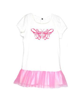 Susan Winget Breast Cancer Awareness Tutu T-shirt Extra Large