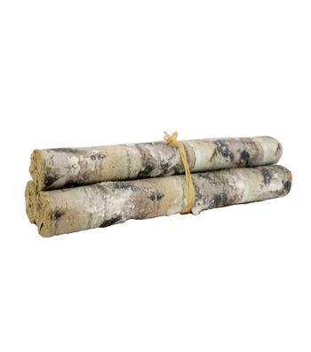 Blooming Holiday Christmas 3 pk Birch Paper Stem Bundle