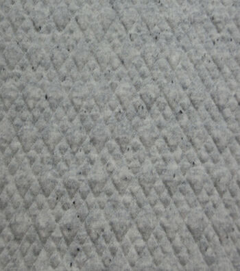 "Knit Bonded Fabric 58""-Grey"