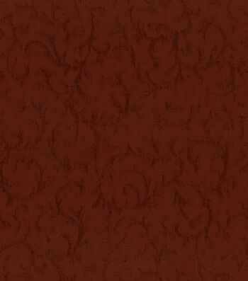 """Waverly Upholstery Fabric 54""""-Sonoma Scroll Berry"""