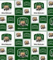 "Ohio University Bobcats Cotton Fabric 43""-Block, , hi-res"