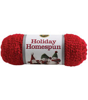 Lion Brand Holiday Homespun Yarn, , hi-res