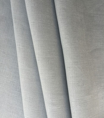 Specialty Linen Fabric 53''-Vapor Blue Solid