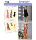 Simplicity Pattern 2362R5 14-16-18-2-Simplicity Misses