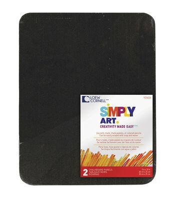 """Simply Art Chalkboard Panels 8""""X10"""" 2/Pkg"""