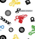 Nintendo Mario Kart Flannel Fabric 42\u0027\u0027-Character Toss