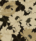 Richloom Upholstery Fabric 54\u0022-Tianna Onyx