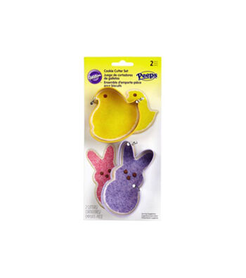 Wilton® 2 pc Cookie Cutters Set-Peeps Chick and Bunny