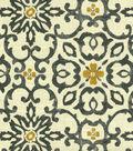 HGTV Home Upholstery Fabric 54\u0022-Souvenir Scroll Fog