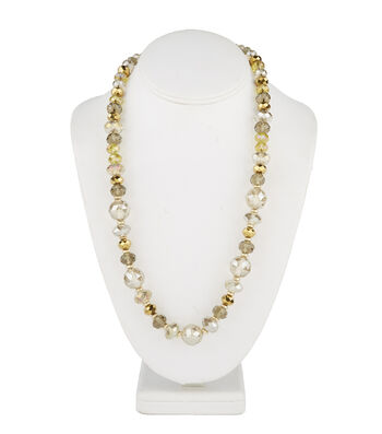 Short Multi Necklace Champagne