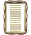Glam Frames 4\u0022 X 6\u0022 Frame-Gray and Ivory