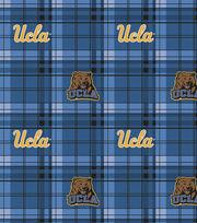 "University of California, Los Angeles Bruins Fleece Fabric 58""-Plaid, , hi-res"