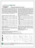 Mccall Pattern V8887 4-6-8-10-1-Vogue Pattern
