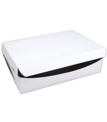 "Cake Box For Cakes Or 24 Cupcakes-14""X19""X4"""