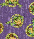 Teenage Mutant Ninja Turtles® Flannel Fabric 42\u0022-Badges