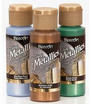 DecoArt Americana 2 oz. Metallic Acrylic Paint-1PK , , hi-res