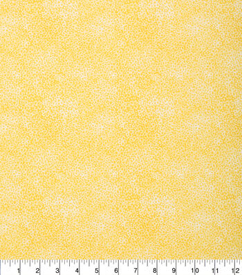 "Keepsake Calico™ Cotton Fabric 43""-Tonal Floral Yellow"