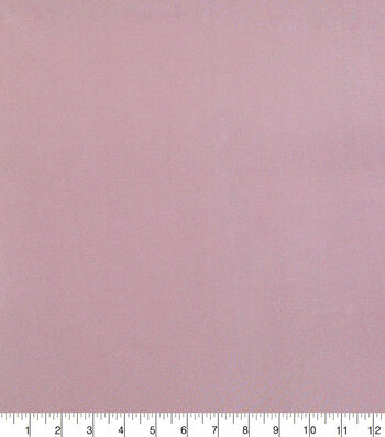 "Glitterbug Satin Fabric 45""-Solid Light Pink"