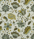 Robert Allen @ Home Print Fabric 55\u0022-Spring Mix Aloe