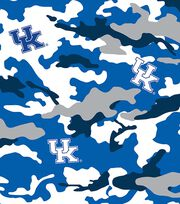 "University of Kentucky Wildcats Cotton Fabric 43""-Camo, , hi-res"