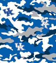 "University of Kentucky Wildcats Cotton Fabric 43""-Camo, , hi-res"
