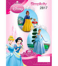 Simplicity Pattern 2817-Dinsey Princess Costumes for Children & Girls