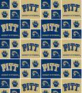 University of Pittsburgh Panthers Cotton Fabric 43\u0022-Block