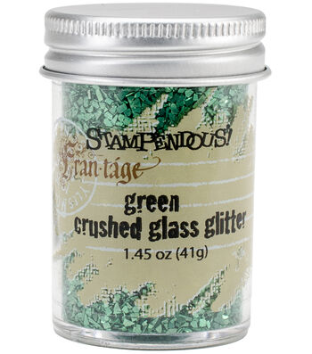 Stampendous Glass Glitter 1 Ounce-Lavender